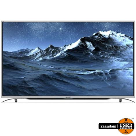 Sharp LC-55CUF8372ES Ultra HD 55 Inch Smart Televisie   Nieuw