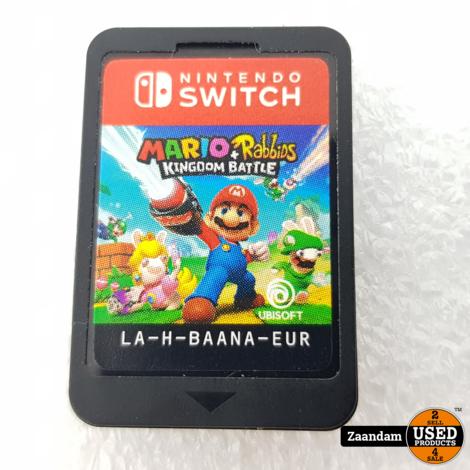 Nintendo Switch Game: Mario & Rabbits Kingdom Battle