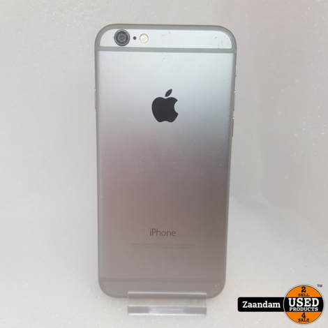 iPhone 6 32GB Space Gray   Incl. garantie