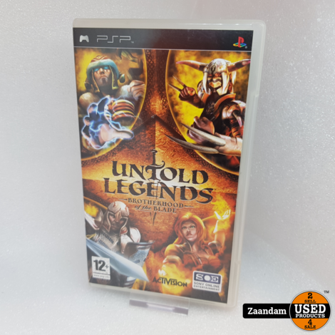 PSP Game: Untold Legends Brotherhood of the Blade