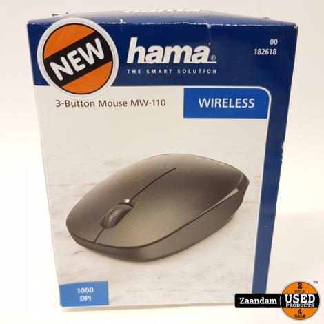 Hama Draadloze Bluetooth Muis   Nieuw