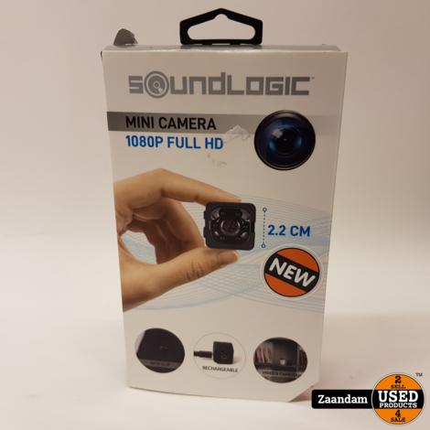Soundlogic 1080P Full HD Mini Camera | Nieuw