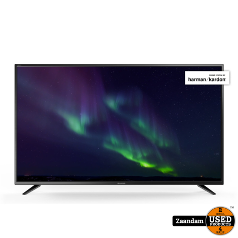 Sharp LC-65CUG8062E 4K Ultra HD SMART Televisie | Nieuw