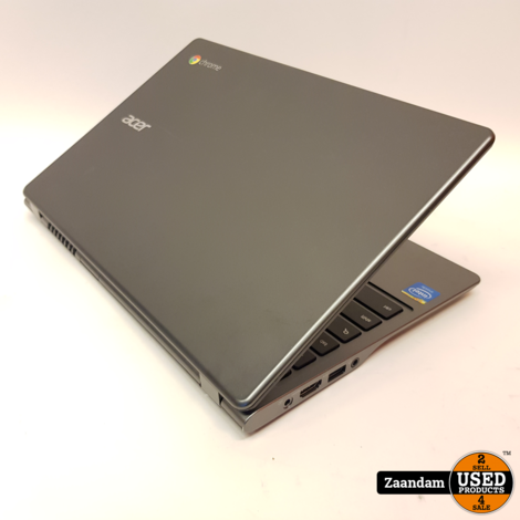 Acer Chromebook C720P Touchscreen   Celeron 2GB 12GB SSD   Nette staat
