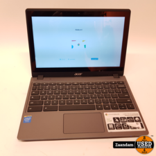 Acer Acer Chromebook C720P Touchscreen   Celeron 2GB 12GB SSD   Nette staat