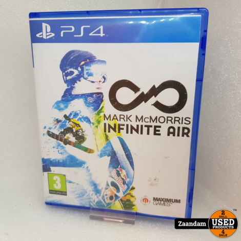 Playstation 4 game: Mark McMorris Infinite Air