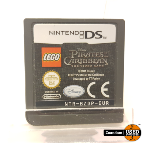 Nintendo DS Game: Lego Pirates of the Caribbean