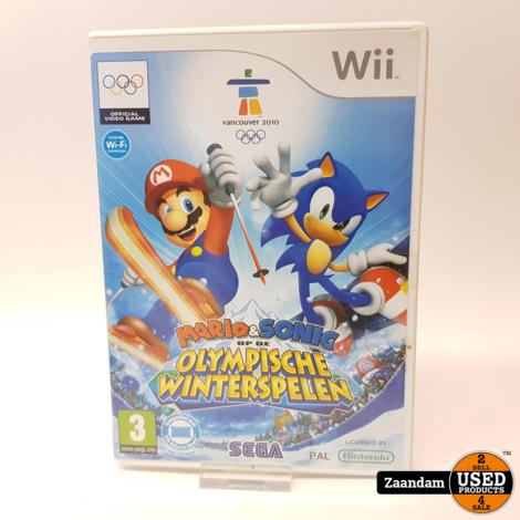 Nintendo Wii Game: Mario & Sonic op de Olympysche Winterspelen