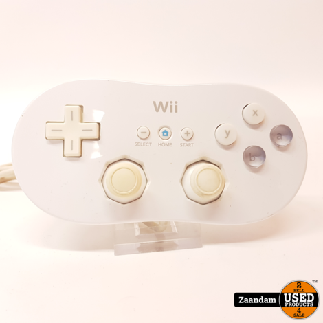 Nintendo Wii Classic Controller Wit | Incl. garantie