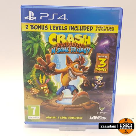 Playstation 4 Game: Crash Bandicoot N'Sane Trilogy