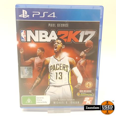 Playstation 4 Game: NBA 2K17