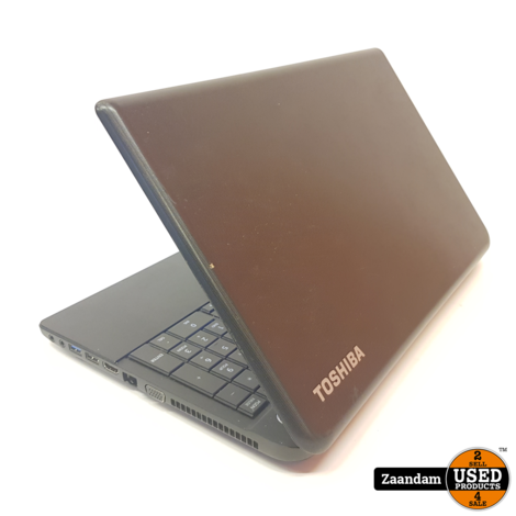 Toshiba C55-A5105 Laptop | IC 2.13GHz | 4Gb | 500GB | Incl. garantie