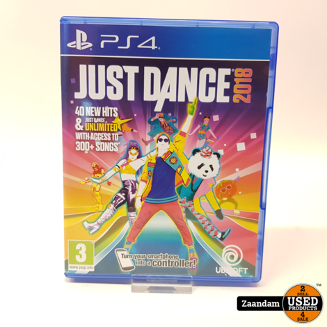 Playstation 4 Game: Just Dance 2018