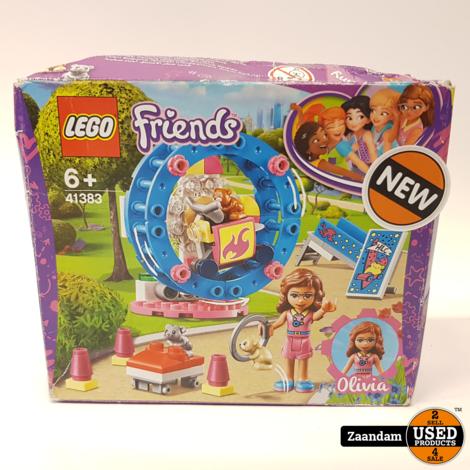 LEGO Friends Olivia's hamsterspeelplaats | 41383 | Nieuw