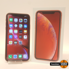 Apple iPhone XR 64GB Rood | Incl. lader, doos en garantie