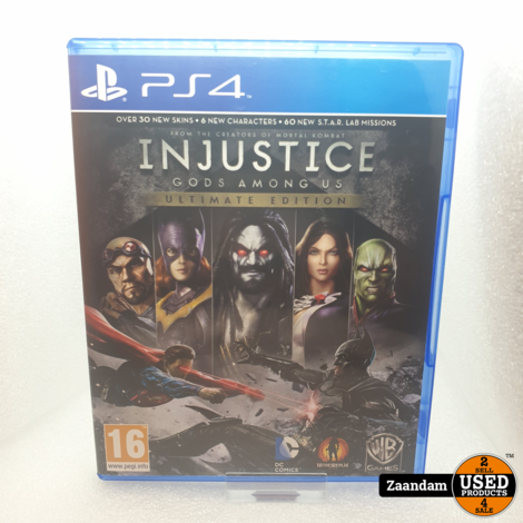Playstation 4 Game: Injustice Gods Among Us Ultimate Edition
