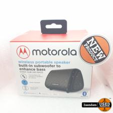 Motorola Motorola Sonic Sub 240 Bass Wireless Portable Speaker | Nieuw in seal