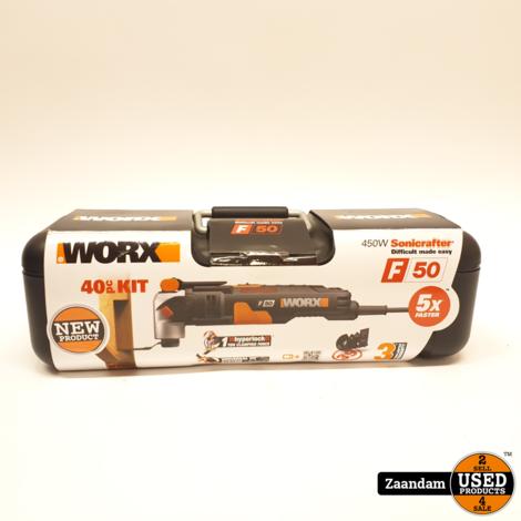 Worx WX681 Multitool | Nieuw in seal