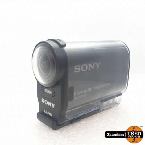 Sony HDR-AS20 Actioncam Zwart | Nette staat