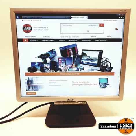 Acer AL1706A 17 Inch Monitor   Incl. garantie