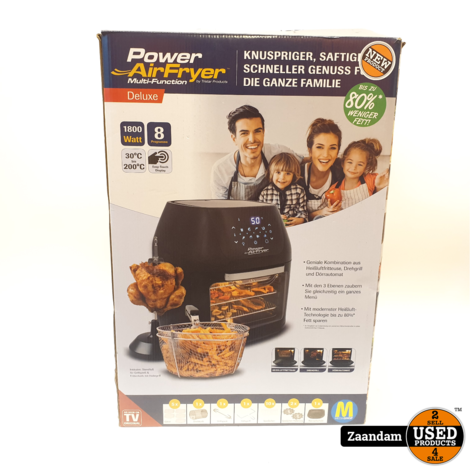 Tristar Products Power AirFryer Deluxe