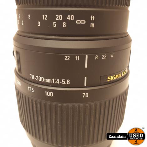 Sigma 70-300 DG F4-F5.6 Objectief | Sony | In nette staat