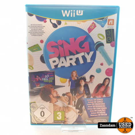 Wii U Game: Sing Party