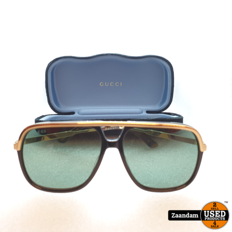 Gucci GG0200S 001 Zonnebril | In nette staat