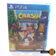 Crash Bandicoot Playstation 4 Game: Crash Bandicoot N'sane Trilogy