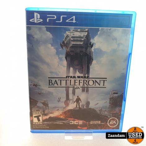 Playstation 4 Game: Star Wars Battlefront