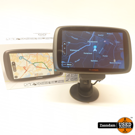 TomTom GO 6100 Navigatiesysteem | Europa | Incl. garantie