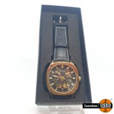 Gowtu Marbella Horloge Goud/Zwart | Automaat | Nieuw in doos