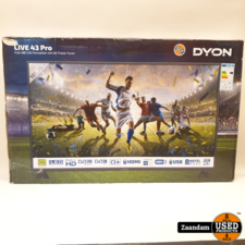 Dyon Live 43 Pro Full HD Televisie | Nieuw
