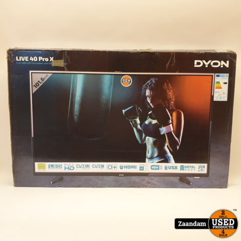 Dyon Live 40 Pro X Full HD Televisie | Nieuw