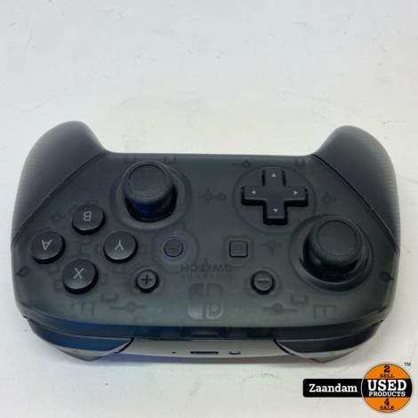 Nintendo Switch Pro Controller Zwart   Nette staat in doos
