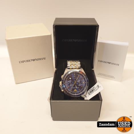 Emporio Armani AR6088 Horloge | Nieuw in doos