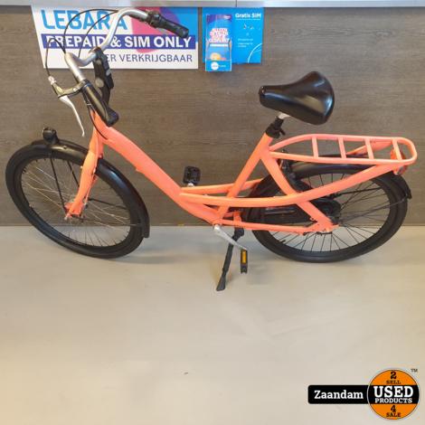 Union Fiets Neon Oranje | In nette staat