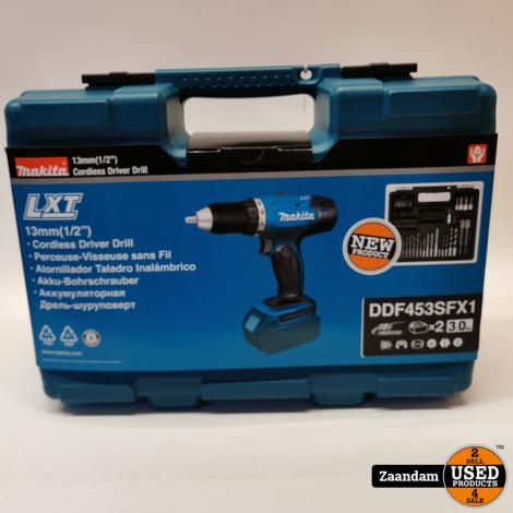Makita DDF453SFX1 18V Boor/Schroefmachine | Nieuw in seal