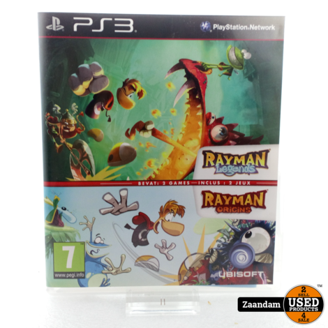 Playstation 3 Game: Rayman Legends/ Rayman Origins