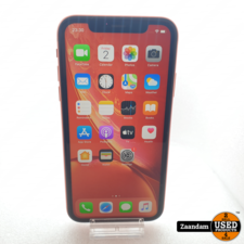 iPhone XR 64GB Coral Roze | In nette staat