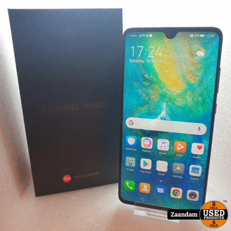 Huawei Mate 20 128GB Black | In doos