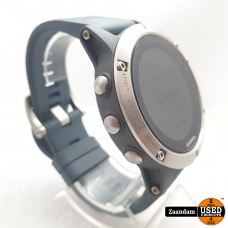 Garmin Fenix 5 47mm Sport Horloge | Saffier | Incl. Garantie
