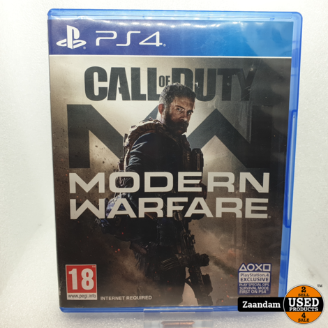Playstation 4 Game: Call of Duty Modern Warfare (2019)