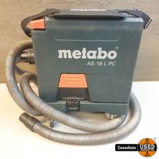Metabo AS18L PC Alleszuiger | Incl. 2x accu en oplader