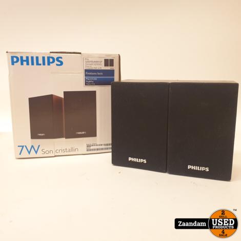 Philips SPA20/12 2.1 Computer Speakerset | Nette staat in doos