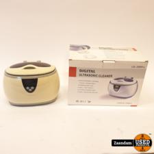 Digital CD-3800 UltraSonic Juwelen Cleaner | Incl. garantie