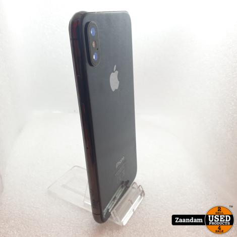 iPhone X 256GB Space Grey | Nette staat in doos