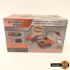 Ultimate Speed Jumpstarter | met Powerbank | Nieuw in seal