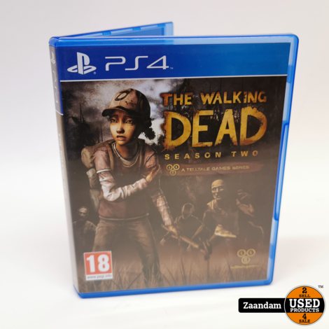 Playstation 4 Game: The Walking Dead Season Two