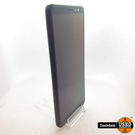 Samsung Galaxy A8 2018 32GB Dual Sim Zwart   In nette staat